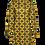 Thumbnail: LaLamour Flared Dress Turtle Neck Seventies Sun