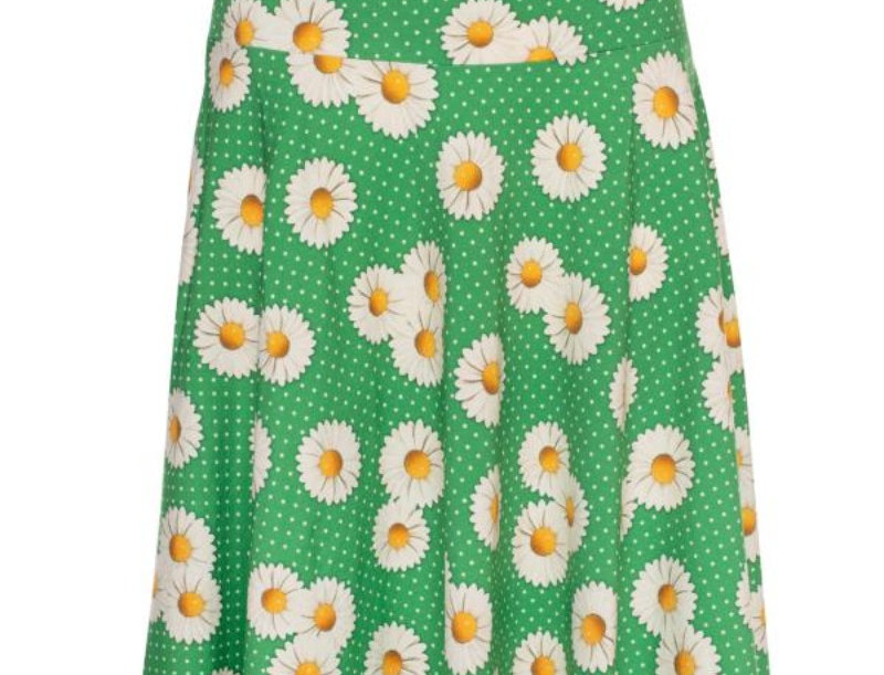 LalamourCircle Skirt Daisy Green