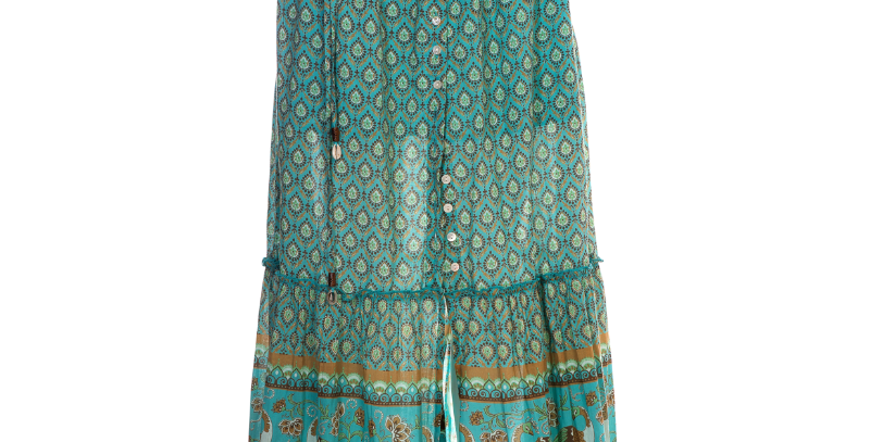 LaLamour Summery Skirt Tuquoise