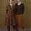 Thumbnail: LaLamour A-Line Skirt Seventies Orange
