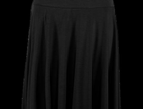 LaLamour Circle Skirt Plain Black