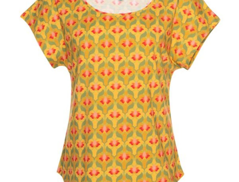 Lalamour Loose Lotus Shirt Yellow