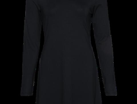 LaLamour Flared Dress Turtle Black