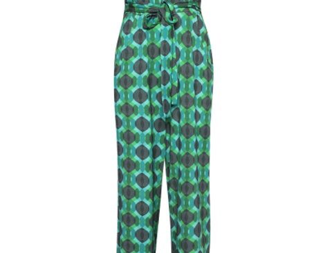 LaLamour Jumpsuite Seventies Turquoise