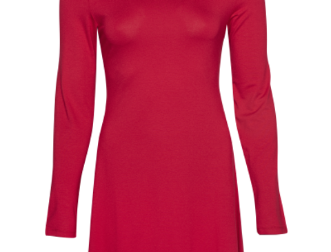 LaLamour Flared Dress Turtle  Red