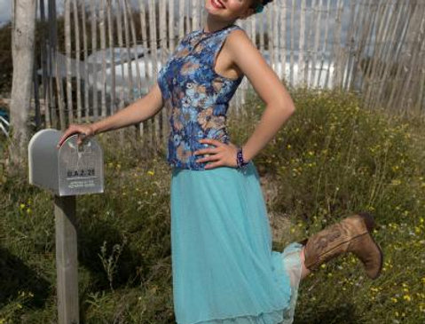 LaLamour Dress Petticoat Light Blue