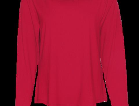LaLamour Loose Shirt Red