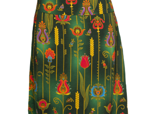 LaLamour A-Line Skirt Folky Green