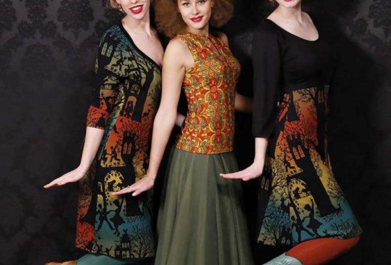 "LaLamour Wrap  Dress ""Dance Palace"" Green"