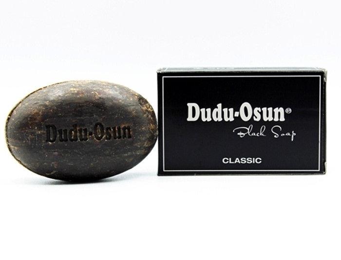 De originele zwarte zeep (black soap) Dudu Osun