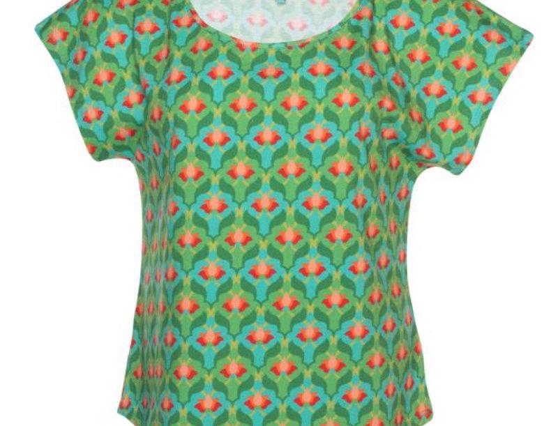 LaLamour Loose Lotus Shirt Turquoise