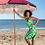 Thumbnail: LalamourCircle Skirt Daisy Green