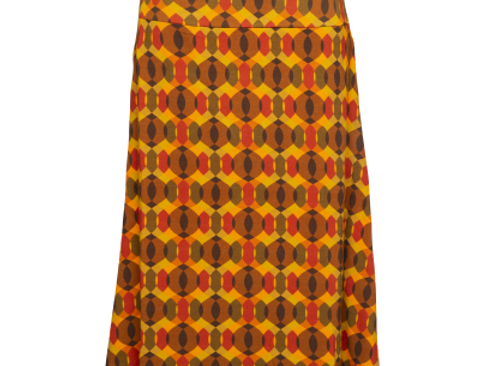 LaLamour A-Line Skirt Seventies Orange