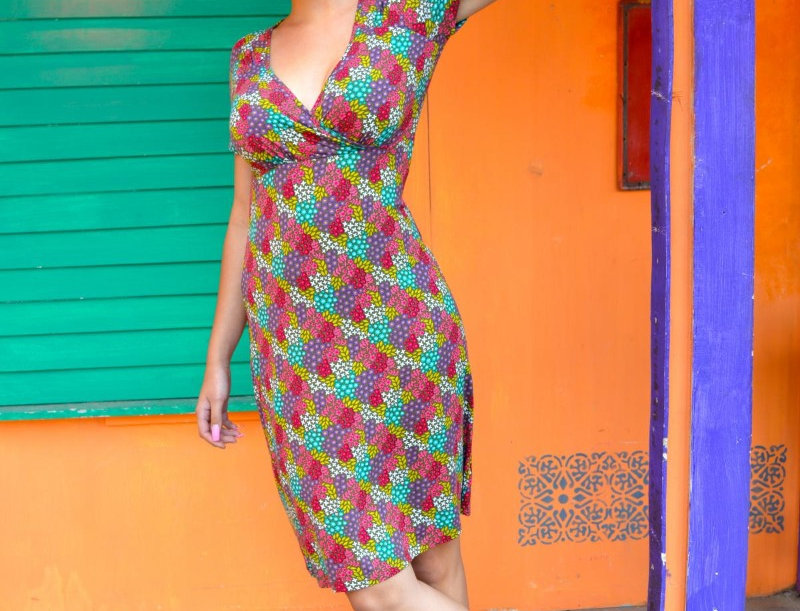 LaLamour Flowery Cross Dress