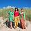 Thumbnail: Lalamour Lotus pants Turquoise Green
