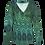 Thumbnail: LaLamour Wrap Shirt Lace Green