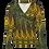 Thumbnail: LaLamour Wrap Shirt Lace Petrol