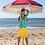 Thumbnail: Lalamour  A-Line Skirt Yellow