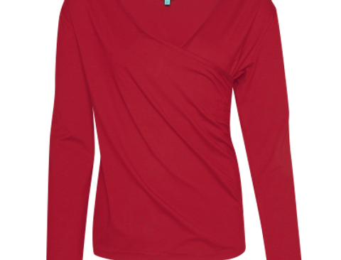 LaLamour Wrap Shirt Red