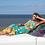 Thumbnail: LaLamour Roses Long Dress Tutquoise