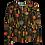 Thumbnail: LaLamour T-Shirt High Neck Folky Black