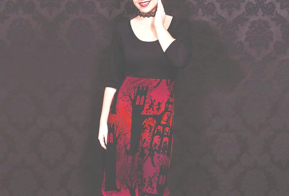 "LaLamour Wrap  Dress ""Dance Palace"" Red"