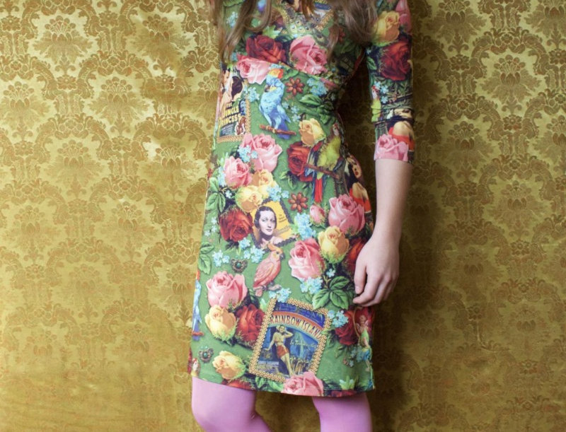 LaLamour 'Dressy' Dress Green