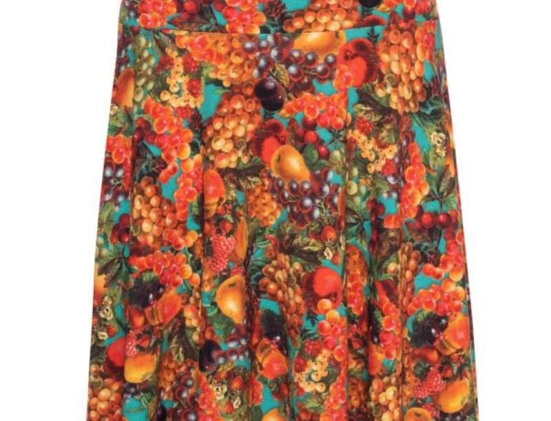 Lalamour  Circle  Skirt Tutti Fruity