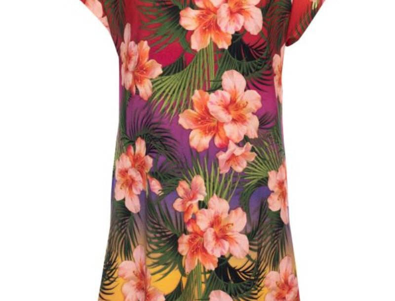 LaLamour Tropical Dress Sunset