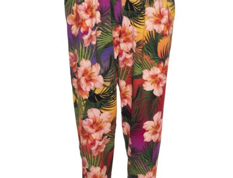 LaLamour Tropical Pants Sunset