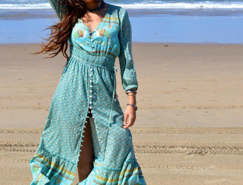 LaLamour  Summery Dress Turquois