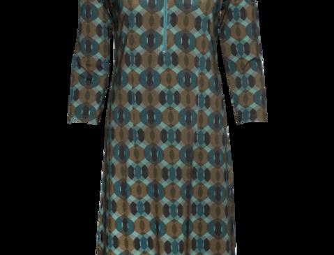 LaLamour Zipp Dress Seventies Patrol