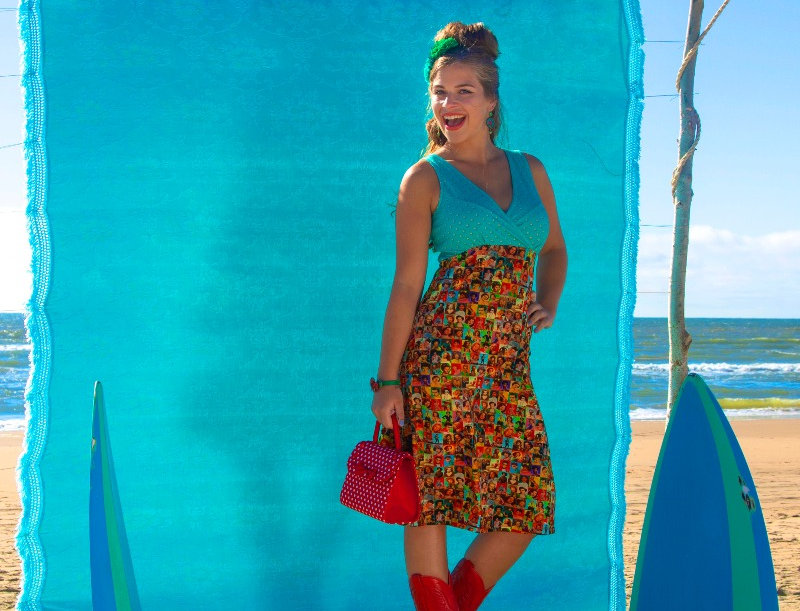 LaLamour Turquoise Icon Dress