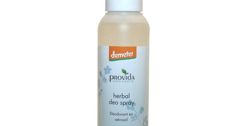 Provida bio deodorant spray zonder aluminium Herbal