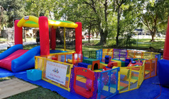 Discovery Zone & Toddler Bounce House