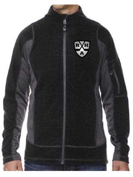 RHA Adult Textured Fleece Jacket