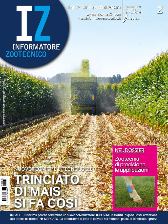 "Informatore Zootecnico: ""A green technology for denitrification"" (in italian) (Jan 29, 2021)"