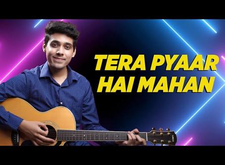 Tera Pyaar Hai Mahan - Praise and Worship Song GUITAR CHORDS & STRUMMING PATTERN   Yeshu Ke Geet