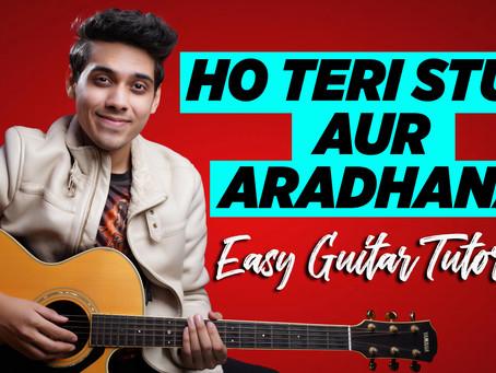 Ho Teri Stuti Aur Aradhana - EASY GUITAR TUTORIAL with Chords & Strumming Pattern | Yeshu Ke Geet