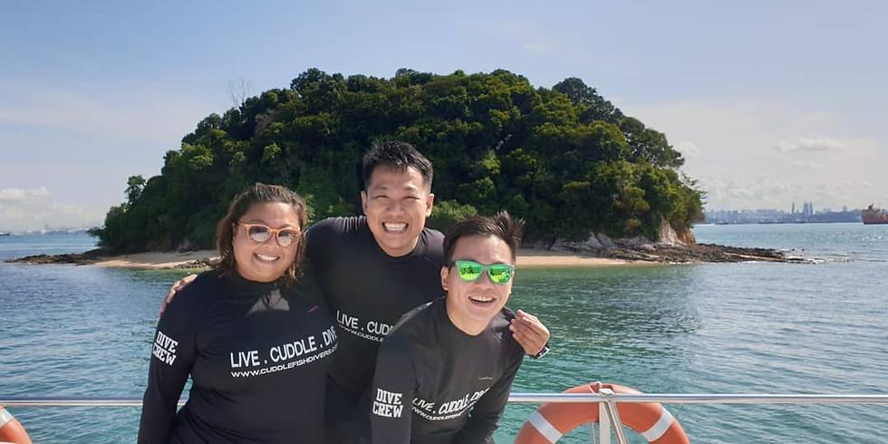 St John's & Hantu - 27 Feb Trip 1 (3 Dives)