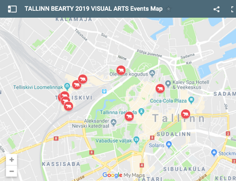 All Events, One Map - Tallinn Bearty 2019 Visual Arts