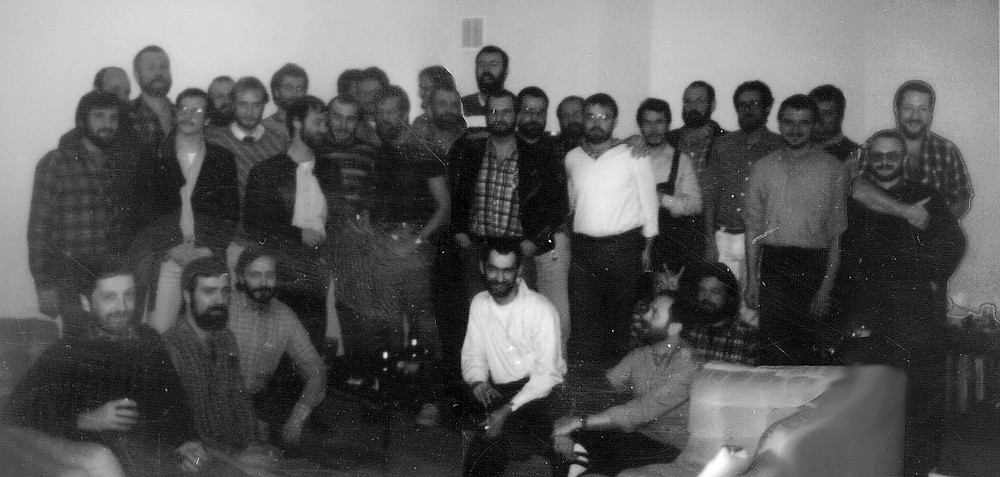 November 1984 - first meeting and founding of Cologne Bear Club, Bartmänner Köln that is probably the oldest bear organisation in Europe today.