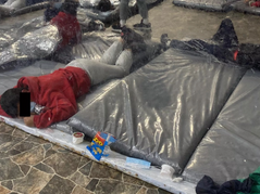 Photos Released From Inside Border Facilities, Hundreds Of Children Huddled Together In Small Rooms