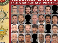 64 Arrested, 2 Women Rescued During Sex Trafficking Operation in California
