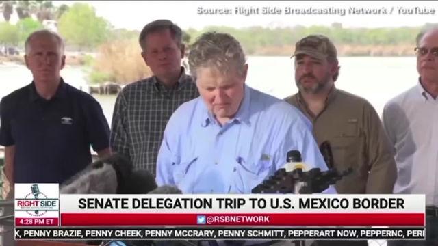🎥15,000 Children Detained, 18 Senators Visit Border