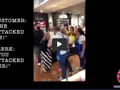 🎥 Bath & Body SLAM!  Customer Tackled For Not Wearing A Mask