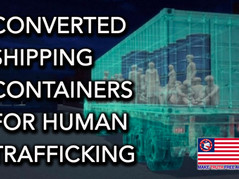 🎥 How A Converted Shipping Container Transports Trafficked Children