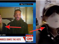 CNN Reporter Caught Conspiring With Antifa Activist To Incite Violence At Capitol Hill Riot