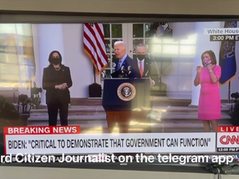 """🎥 Richard Citizen Journalist Exposes Fake """"Live Event"""" At The White House!"""
