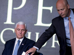 LEAKED: Confidential Docs Reveal Pence Chief Of Staff Referred Biden Bud Luntz For Secretary Role